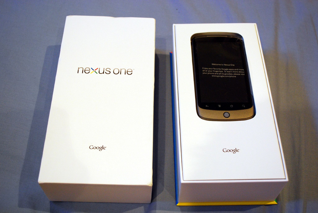 Google 將關閉 Nexus One 的網上銷售商店