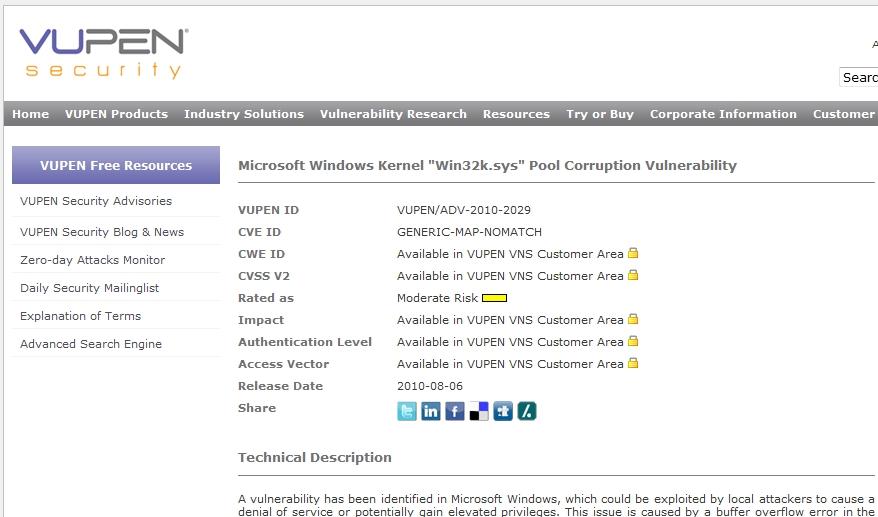 研究人員再發現 Windows 系統嚴重漏洞
