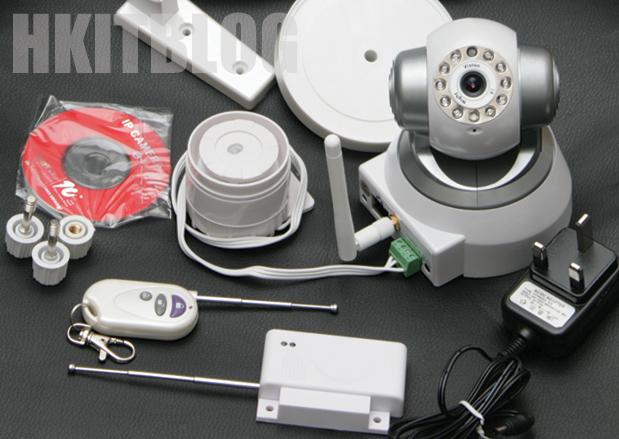 開門開窗即觸發 IP-CAM 錄影及短訊方案