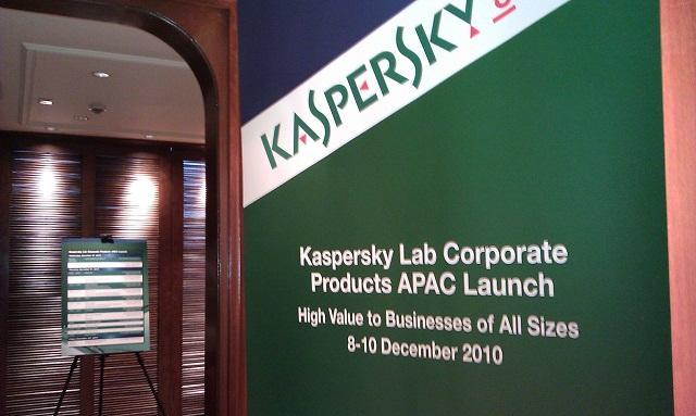 Kaspersky 為智能手機支援 GPS 追蹤