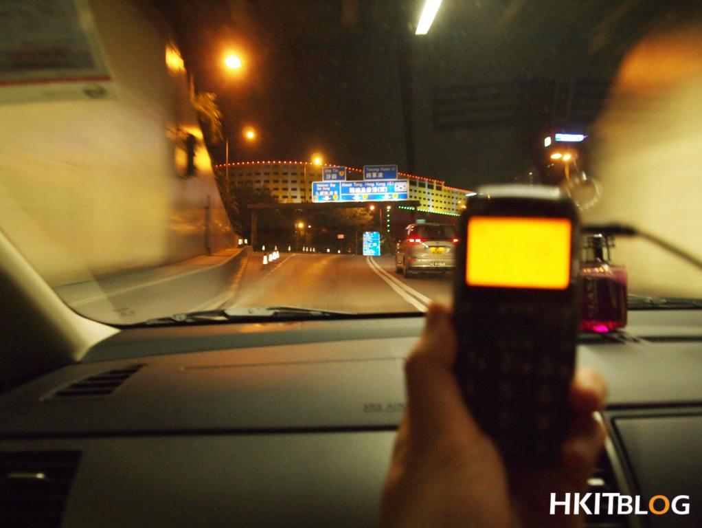 GPS 啟德隧道出口