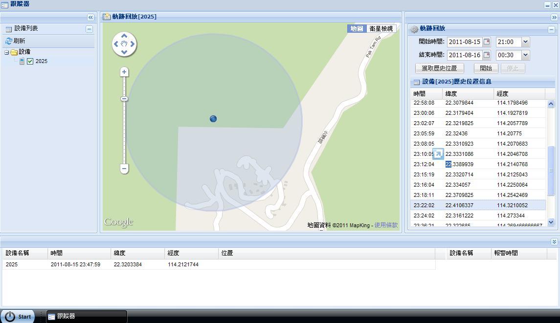 GPS 網站