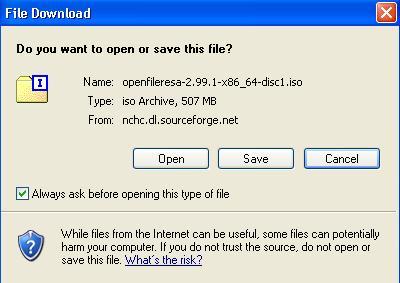 Openfiler 安裝
