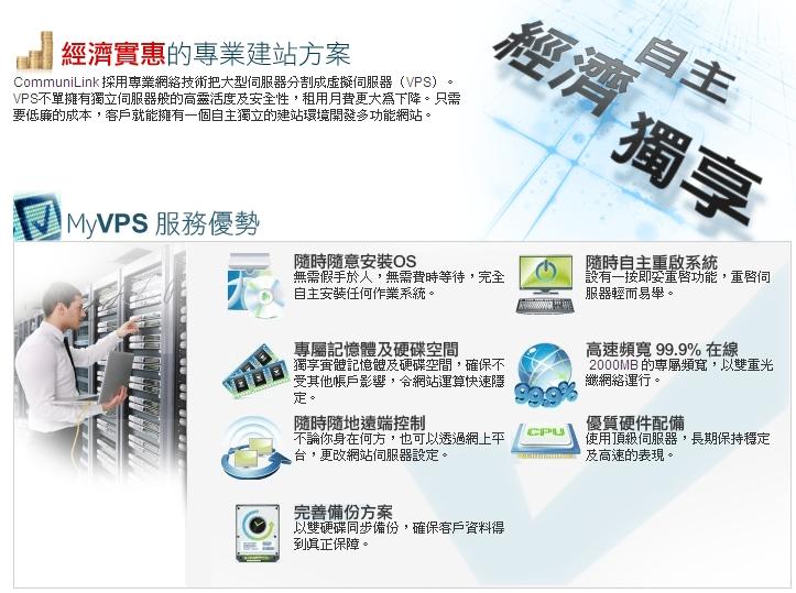 CommuniLink MyVPS Service
