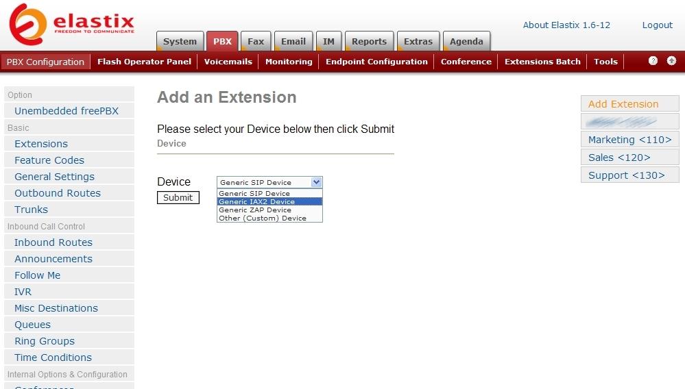Elastix Fax Setup