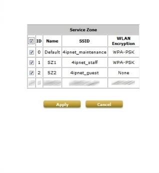 4ipnet WHG311 Setup