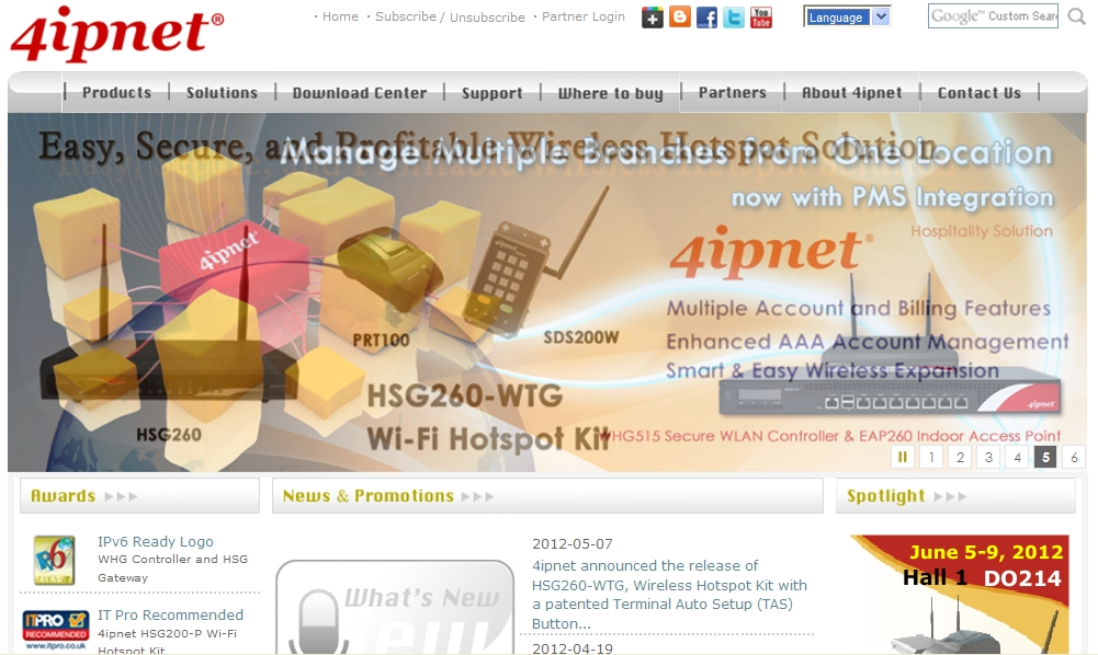 4ipnet Access-Point Controller Introduction