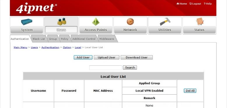 4ipnet Account Setup