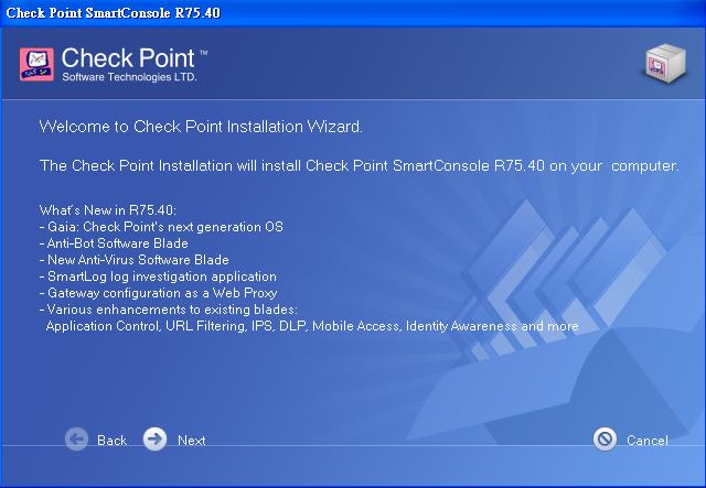 Check Point SmartConsole Installation