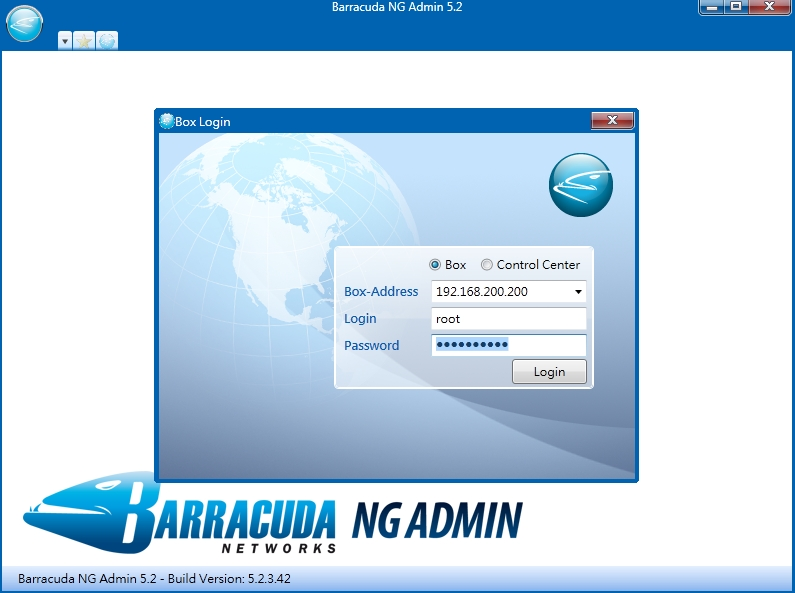 Barracuda NG Admin