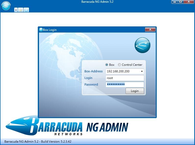 Barracuda NG Admin