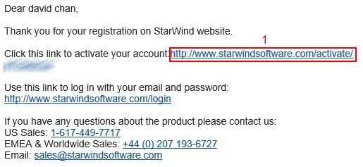 StarWinds Installation