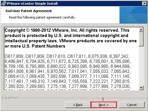 VMware vCenter 5.1 Installation