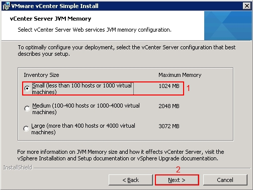 VMware vCenter 5.1 Installation