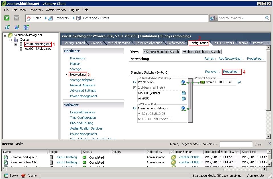 vCenter Add iSCSI Target
