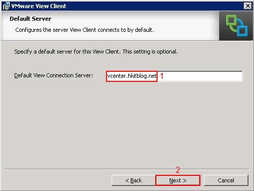 View Client Installation