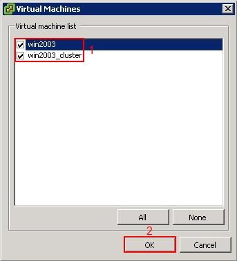 VMware vCenter DRS