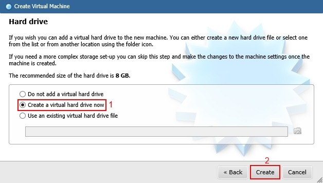 phpvirtualbox Create VM