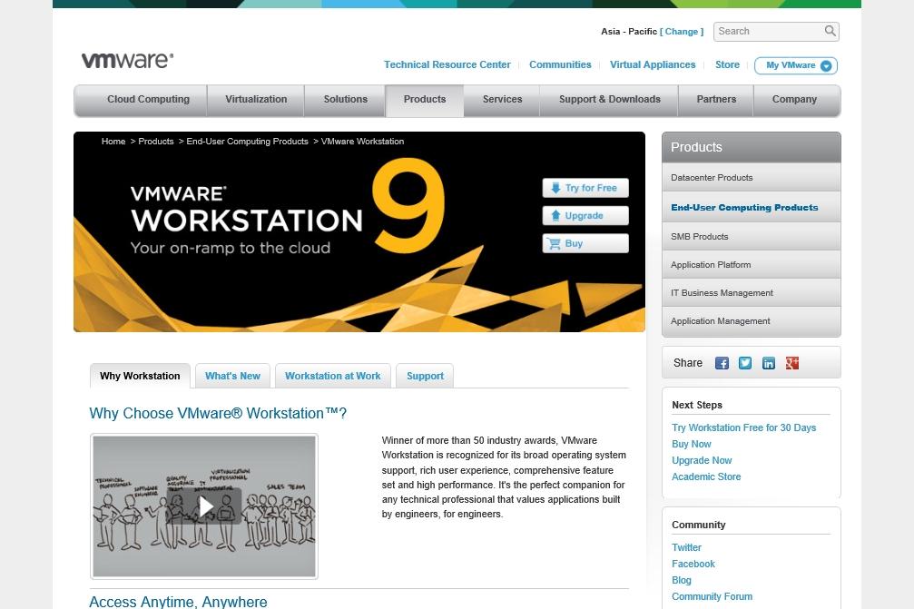 VMware Workstation 9 with Hyper-V