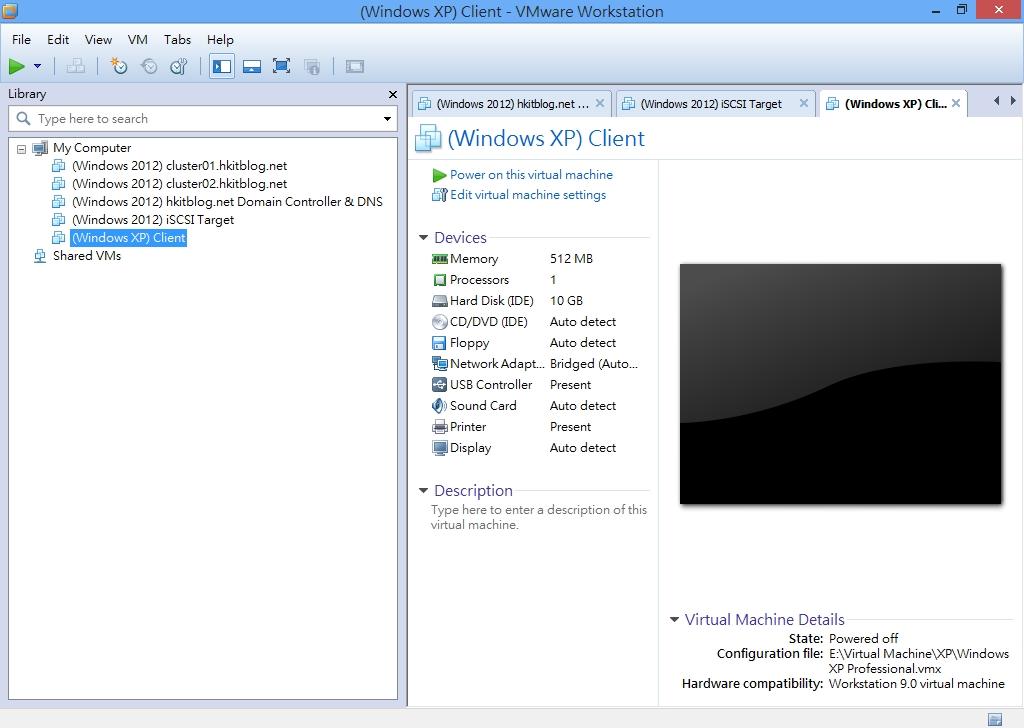 VMware Workstation Setup Hyper-V VMs