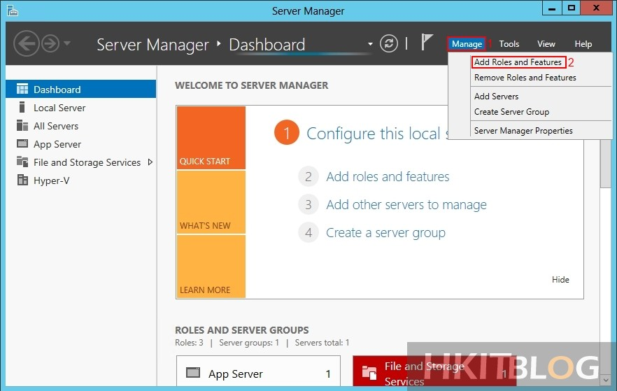 Windows 2012 SNMP installation