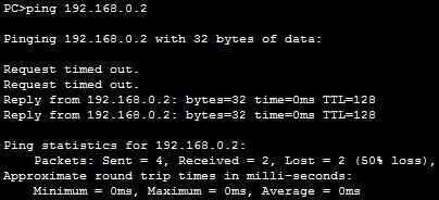 Cisco STP Testing Failover ping