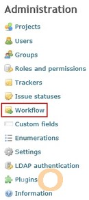 Redmine Workflow