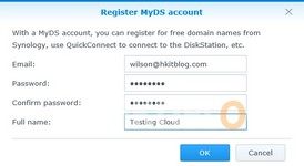 Synology QuickConnect ID Setup