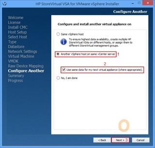 HP StoreVirtual Storage Installation