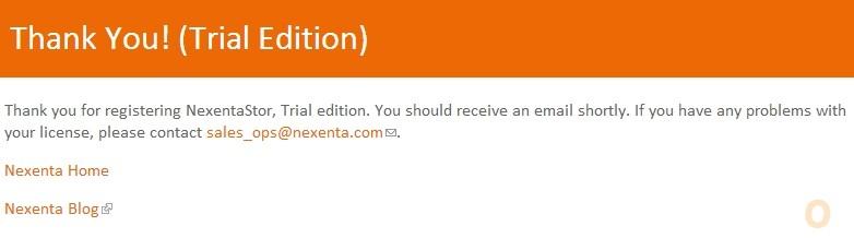 Nexenta VM Installation