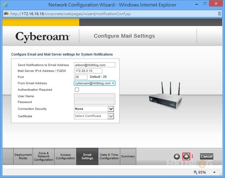 Cyberoam Gateway Mode Configuration