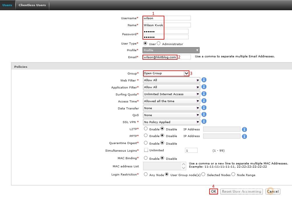 Cyberoam Identity_based Configuration