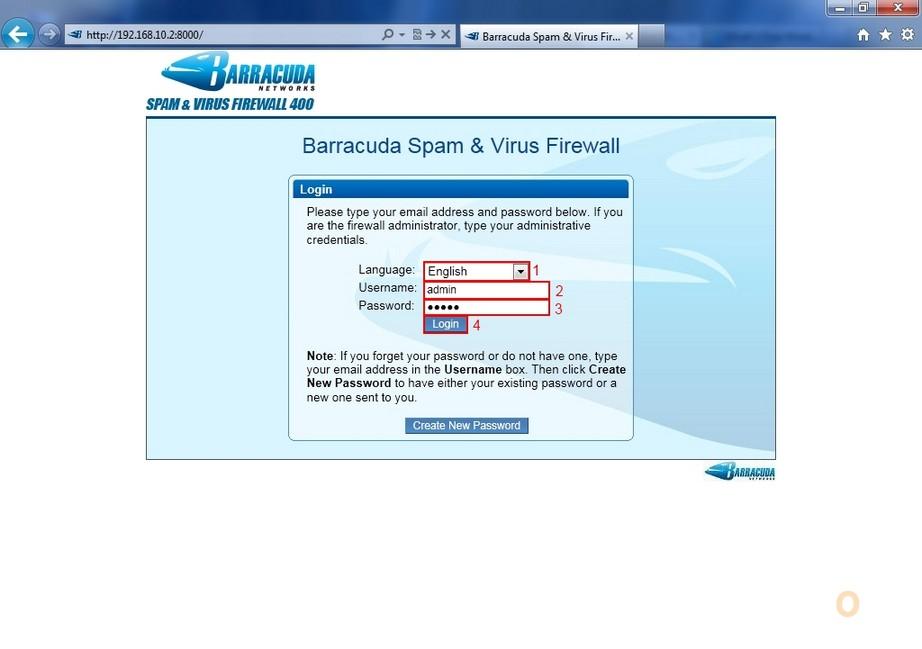 Barracuda Spam Firewall Configuration