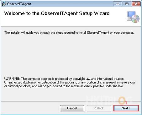 ObserveIT Agent Installation
