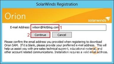 SolarWinds SAM Installation
