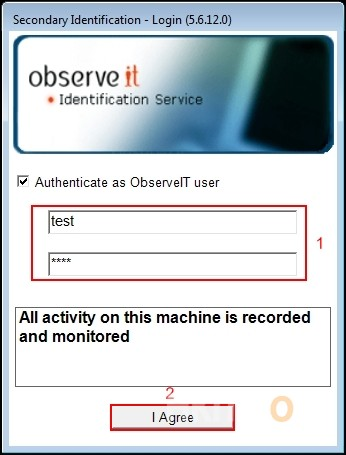 ObserveIT Two Way Auth