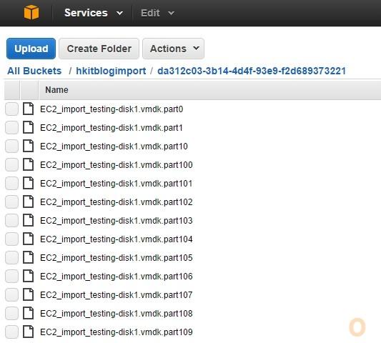 Amazon with ESXi VM Migration