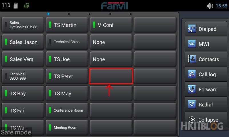Fanvil DSS Key