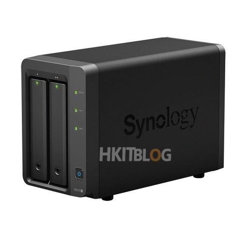 Synology DS215+_side