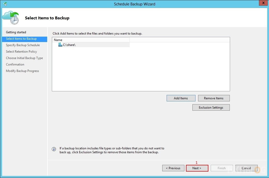 Microsoft Azure Recovery Service - Backup