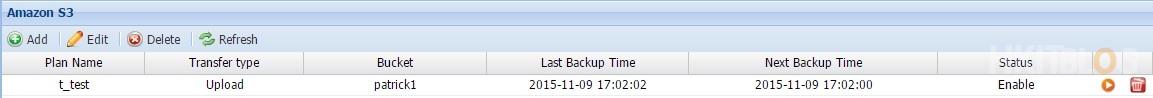 PROWARE NAS Cloud Backup