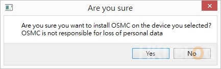 Raspberry Pi install OSMC