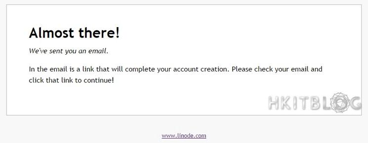 Linode Trial Account Setup