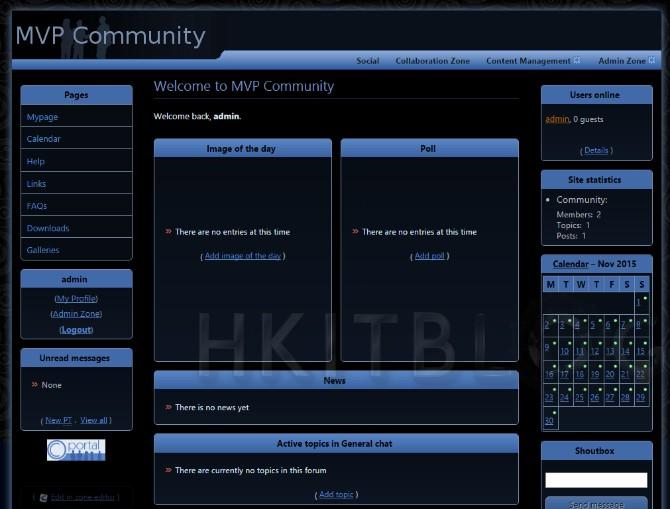 導入 CMS 的另類選擇:手動快速安裝設定 ocPortal 網站 (2)