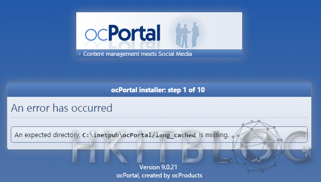 導入 CMS 的另類選擇:ocPortal 安裝常見問題