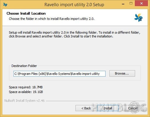Ravellosystems upload ISO