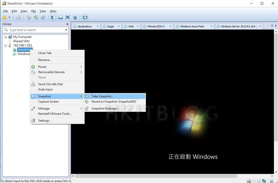 虛擬平台管理術:如何直接使用 VMware Workstation 管理 ESXi 虛擬機器?