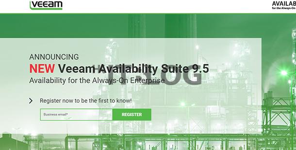 全面支援 Windows Server 2016:Veeam Availability Suite 9.5 將於本年內推出