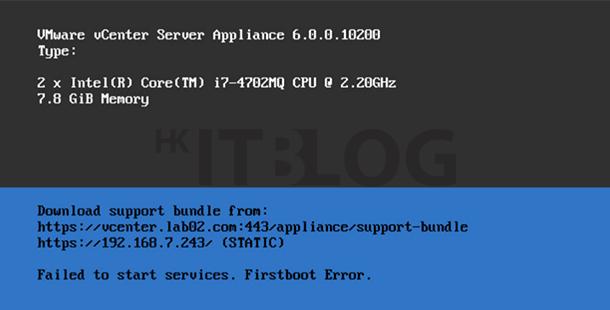 vCenter Server 6.0 部署須知:安裝系統的最低要求