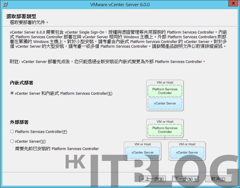 按步就班!vCenter Server 6.0 安裝設定實戰(上)